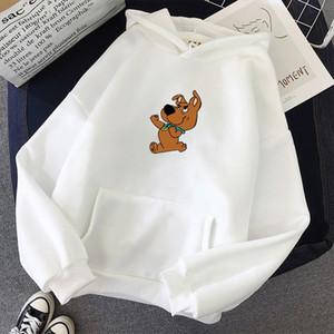 Winter Womens Hoodies Full Sleeve Hoodie Cute Dog Print Sweatshirt Kawaii Hoodies Women Hoody Female Itself Sudaderas Mujer
