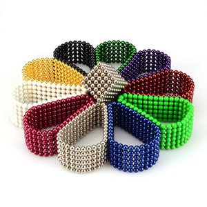 Hot-selling Rubik's cube ball decompression thinking creative toy puzzle NdFeb magnetic beads decompr