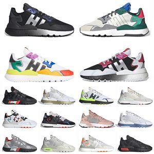 nite jogger 2019 luxo nite basculador reflexivo mens running shoes triplo preto branco TRACE PINK ICE MINT confortável 3 M mens sports sneakers tamanho 36-45