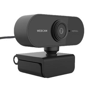 Cámara web de Webcam 1080p HD con microfono AutoFOCUS USB 2.0 CAM CAM PC Desktop Mini webcamera cam cámara web para computadora