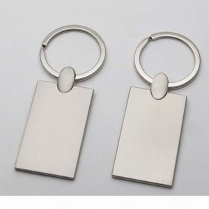 Blank Keychains Photo Keyrings Custom Engraved picture Key chains keyring photo KM01C DHL DROP SHIPPING