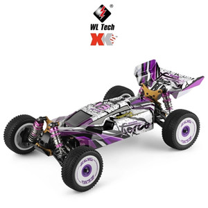 Wltoys 124019 RTR 1 12 2.4G 4WD 60km h Metal Chassis RC Car 550 Brushed Motor Off-Road Climbing Truck Kids Toys Christmas Gift 201218