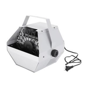 Nuevo diseño 30W AC 110V Mini Mini Bubble Maker Machine Machine Auto Speller para Boda / Barra / Party / Stage Show Silver