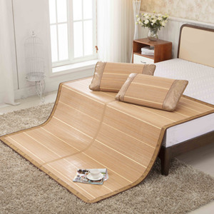 Natural bamboo and rattan mattress mattress for summer sleep cooling bed cover pillowcase bedding home textile specifications 1.8mX2m Sheet
