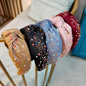 Colorful Diamond Headbands Designer Top Quality Dirt-resistant Women's Hair Hoop Breathable Nightclub Party Gifts Hipster Hair Jewelry
