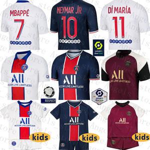 Jersey Paris Soccer Paris SaintChemise de football Germain 7 Mbappe Maillot de pied 10 Uniformes Neymar 18 ICARDI 11 di Maria 9 Cavani