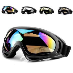 Nuevo ciclismo gafas de snowboard gafas de snowboard ski goggle bicicleta gafas a prueba de viento a prueba de viento montar al aire libre mtb carretera bicicleta motocicleta vidrio