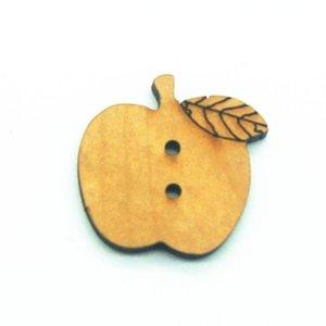 50pcs 2 Holes Garment Wooden Decorative Buttons Fit Diy Sewing Scrapbooking Accessories Crafts 50pcs 2 Holes Good Quality Best Sales wmtwAO