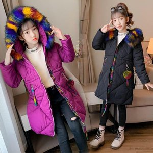 2020 girls down hoodie kids doudoune winter coat dress jacket s costume designer sweater sweater coat 005