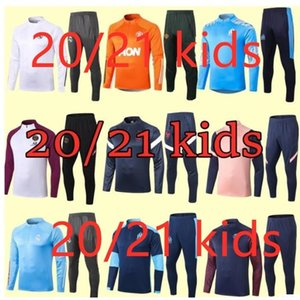 kids tracksuit set boys kids shoes clothes soccer tracksuit kids New football kits retro soccer jersey football training suit jerseys