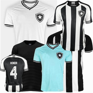 20 21 Botafogo fr Maillots de pied de football Jersey Botafogo Accueil 3ème Honda Diego Souza 2019 2020 2021 Football Hommes et femmes Chemise