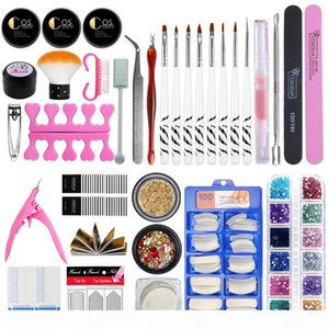 COSCELIA Manicure Set For Nail Kit 36W UV Lamp Dryer Nail Set with Drill Machine Gel Polish Soak Off Manicure Tool Kit