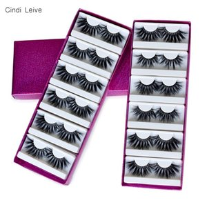5D 25mm Lashes Mink Eyelashes Wholesale Lashes Eyelash 3D Mink Lash Fluffy False Eyelash Packaging Boxes Magnetic Eyelashes