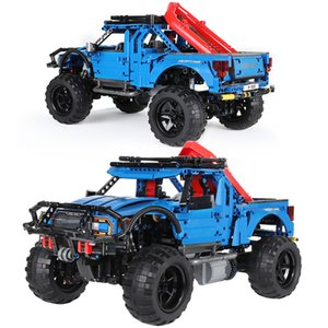 1630pcs RC Non-RC Raptor Pickup Technic Off-Road Truck Remote Control Building Blocks SUV Vehicle Bricks Children Toys Gifts Q1126