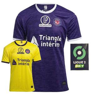2020 2021 Toulouse FC Soccer Jerseys Toulouse Home Away 20 21 كرة القدم الرجال والأطفال قميص