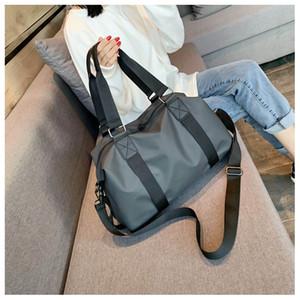 Sports Fitness Bag Men's and Women's Gym Yoga Bag Travel Luggage Handbag Women's Weekend Blouse Waterproof Bag
