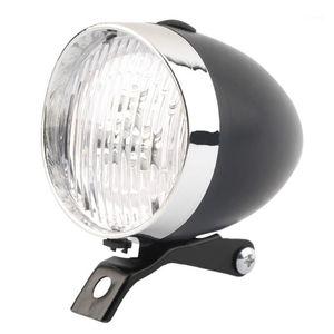 Lampe de brouillard frontal Classic LED Vike Vélo Phare Vélo Vélo Retro Tête Rétro Feu antibrouillard Avertissement de sécurité