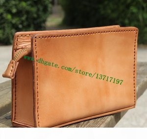 Top Grade Lady Brown Letters Flower Mono Canvas Coated Real Leather M47546 TOILETRY POUCH 15 Women Toilet Zippy Bag Small size