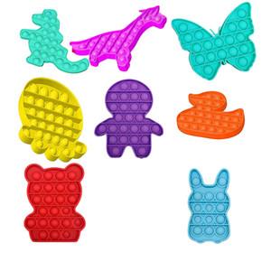 Poussez les jouets à bulles Autisme Besoins spéciaux Stress Stress Stress Aide Soulager la décompression anti-pression et augmenter la mise au point SPOW Squeeze Toy Adultes K