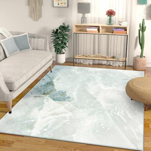 Modern Beautiful Marble Pattern Carpet Geometric Printed Tapis Soft Carpets For Living Room Anti-slip Rug Floor Mat Home Decor