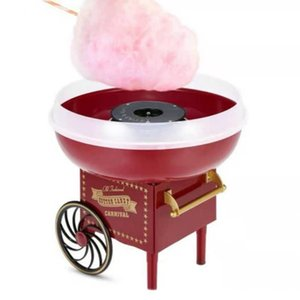 Retro-Trolley-Baumwoll-Candy Machine Mode Mini Candy Floss Maker Home Machine