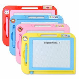 Colorful Magnetic Drawing Board Toy and Sketch Erasable Pad Writing Kids Toddler Boy Girl Painting Learning Birthday Gift