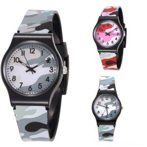 rdqTX Brand Luxury Black Gold watch Mens CamouflageQuartz Children world map Male Sport Wrist Watch Men Chronograph Sport Watch