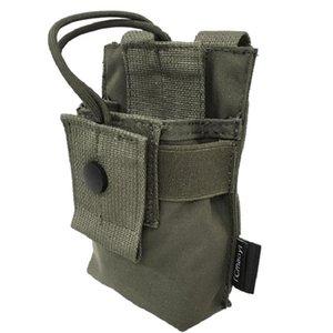 Tcmaoyi Tactical Vest Sundry Bag Walkie Talkie Bag Imported DuPont Fabric Tc0040-Rg