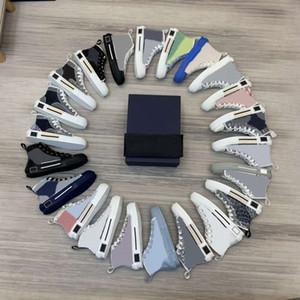 2021 Hombres calientes Hombres Hombres Casual Lienzo Sneakers Shoe Show Show Show Top Lovers Zapatillas Zapatillas De Lona Con Caja De Calidad Superior