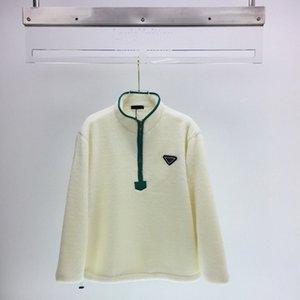 Poche d'hiver Chaud Streetwear Agneau Jacket Zipper Half Hommes Wool Wool Women USA Veste manteau NAGMD