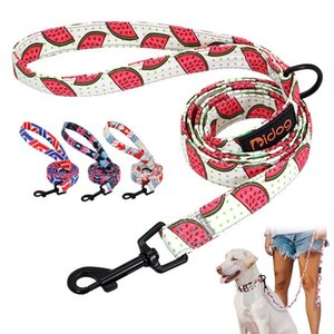 150cm Nylon Dog Leash Printed French Bulldog Lead Leash Puppy Small Medium Dogs Cats Leash For Chihuahua sqccNG