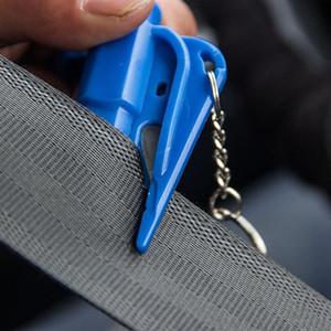 Безопасность автомобиля Молоток портативные побега Молотые оконные выключатели, установленные на транспортном средстве Многофункциональный мини-спасательный молоток Eef3554