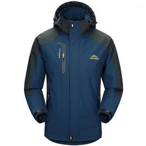 5xl jaqueta homens à prova d 'água com capuz respirável homens jaquetas e casacos primavera outono Outwear Windbreak casaco marca masculino armamento vestuário1