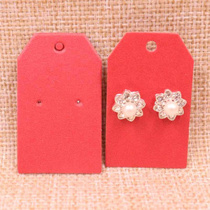 100 pcs DIY earring card30x50mm 1Pair Earring Card 2020 HOT New Cut Nice Fresh Pearl Shinning Colour Wholesale Free Shipping