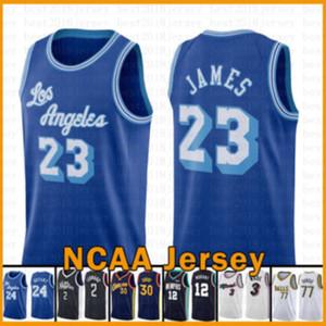 Lebron 23 James Los AngelesLakers.Kobe.24.Bryant Basketball Jersey 2020 2021 New Jimmy 22 Butler Luka Tyler 14 Herro Doncic
