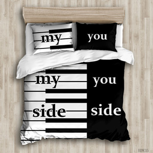 3D printing lovers bedding queen size luxury Quilt pillow case duvet cover designer bed comforters sets