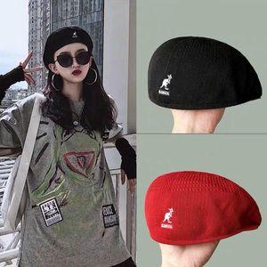 2020 new summer handmade fine kangaroowoven lady mesh beret cap England retro women leisure hat french hat SL-07