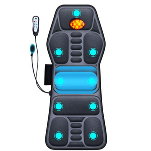 Full body car neck massage multi-functional relaxation treatments electric smart hand control houdehold cushion
