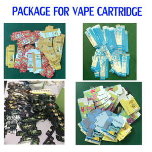Biscotti Dank Vapes Cereali Carrelli Moonrock Vape Cartridge Packaging Package Package Box per cartucce VAPE Cera Concentrato Concentrato