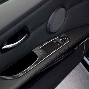 2 PCS en fibre de carbone de la voiture gauche Panneau de levage Panneau décoratif Sticker décoratif pour BMW E92 2005-2012 Diamètre 404cm