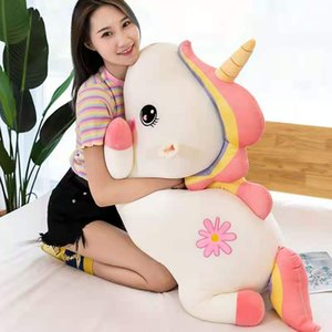 ins removable and washable unicorn cartoon plush doll sleeping pillow cute girl toy unicorn doll