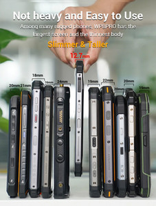 OUKITEL WP8 Pro IP68 Rugged Smartphone Android 10 4GB 64GB 5000mAh 16MP Triple Camera NFC 6.49 inch Mobile Phone Waterproof