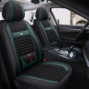 2021 Brand New Car Seat Covers Fit Mercedes Benz A C W204 W205 E W211 W212 W213 S class CLA GLC ML GLE GL PU Leather Seat Cushion (black)