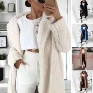 Woolen winter woman coat female jacket coat female High Quality Warm Parka Jacket Solid Outwear jackets for women feminine
