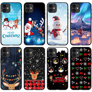 2020 New Christmas IPhone12pro Case Fashion Xsmas 6p Couple Mobile Phone Case 7Plus for IPhone11Pro 12 Case Wholesale