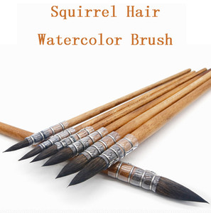Squirrel Hair Art Painting Brushes Artistic Watercolor Paint Brush for Watercolor Painting Art Supplies Professional Artist