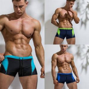 0z6j Brand Trendy Swim Breifs Casual Swimwear Pantaloncini Pantaloncini Breve Hot Man Tower Tronco Stile Composizionebile Swimsuit Swimsuit uomo per Bagnati da bagno Nuoto