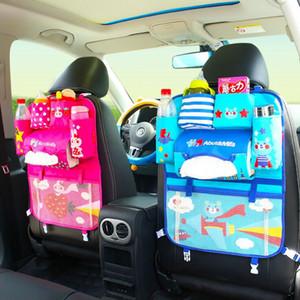 1PCS Auto Car Seat Organizer Holder Foldable Car Hang Bags Multifunctional Travel Storage Bag Baby Product Tidying Backseat Organizing Box