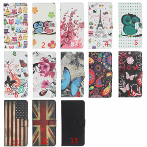 Printed Pattern Flip Wallet Phone Case For iPhone 12 Mini 11 Pro XS Max XR X 7 8 6 6S Plus SE 2020 TPU in inner Cover