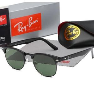 2020 راي ماركة الاستقطاب النظارات الشمسية الرجال / النساء الطيار النظارات الشمسية uv400 نظارات طيار نظارات سائق حظر المعادن الإطار بولارويد Lens3016